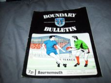 Oldham Athletic v Bournemouth, 1972/73